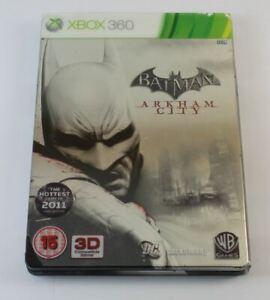 Batman Arkham City Steelbook Edition (xBox 360)