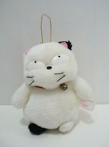 "Urusei Yatsura Kotatsu neko Cat Banpresto 1992 Plush 6"" Stuffed Toy Doll japan"