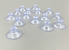 50PCS Clear Transparent Hanger Kitchen Bathroom Suction Cup Sucker 20mm