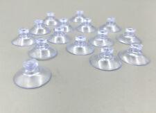 50PCS Clear Transparent Hanger Kitchen Bathroom Suction Cup Sucker 20mm