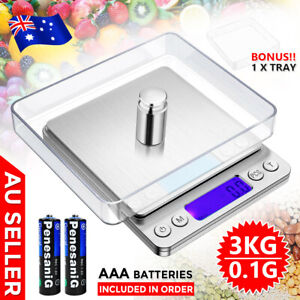 3kg/0.1g Kitchen Digital Scales LCD Electronic Pocket Food Weighing Coffee Scale