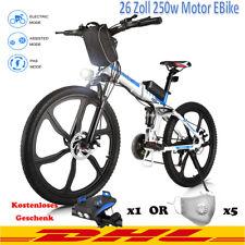 Elektrofahrrad Mountainbike ebike 26Zoll E-Bike 250W Motor Klapprad Pedelec-DHL