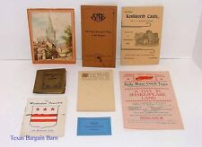 VINTAGE TRAVEL Temple Tour 1925 England/Postcard/Many Genealogy American Names