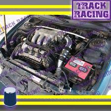93 94 95-97 FORD PROBEGTMAZDA MX6626 2.5L V6 COLD AIR INTAKE KIT Black Blue