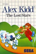 ## SEGA Master System - Alex Kidd: The Lost Stars / MS Spiel ##
