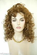 Strawberry Blonde Red Long Medium Curly Wigs