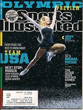 GRACIE GOLD ICE SKATING TEAM USA WINTER OLYMPICS SOCHI PREVIEW SPORTS ILL 2014