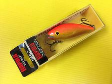 Rapala Shallow Fat Rap SFR-7 GFR, Gold Fluorescent Red Color Crankbait Lure.