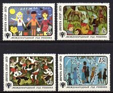 Russia - 1979 Year of the child Mi. 4878-81 MNH