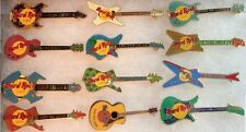 12 Hard Rock Cafe CABO SAN LUCAS 1990s GUITAR Collection PIN LOT! HRC MEXICO