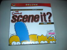 Deluxe The Simpsons Scene It? DVD Game New shrink wrapped