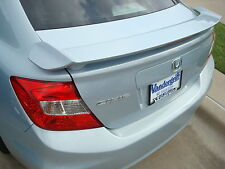 2012-2014 Honda Civic 4 Door Sedan Painted Rear Spoiler Factory Style Wing NEW
