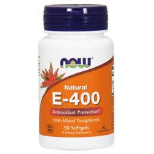 Vitamin E-400 IU MT, 50 Softgels - NOW Foods