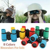 Rubber 4x30 For Children Pocket Rubber Telescope Binoculars Rubber Telescope