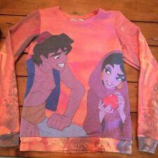 Disney Aladdin Jasmine Movie Scene Long Sleeve Sweatshirt Women's XS