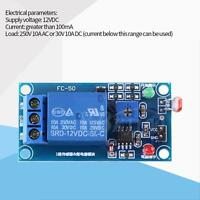 DC12V LDR Photoresistor Relay Module Controler Light Sensor Switch 78L05 G