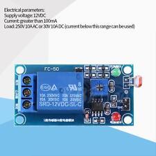 DC 12V Stable LDR Photoresistor Relay Module Controler Light Sensor Switch 78L05