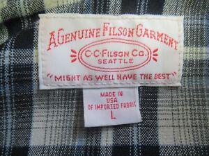 M6980 VTG Filson Men's Full-Zip Fleece Sweatshirt Size L