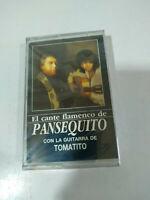 Pansequito el cante Flamenco Tomatito Guitarra - Cinta Cassette Nueva