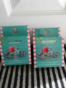 2  x Primark Disney Minnie Mouse Inflatable Cup Drinks Holders ...BNIB
