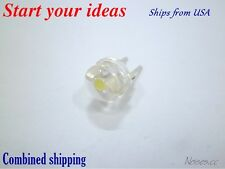 10 Pcs LED 8mm Cool White 0.5 Watt Wide Angle Bright High Power LEDs 0.5w