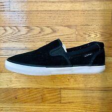 CIRCA C1RCA Corpus Men's Black Suede Sneakers Skate shoes size 9