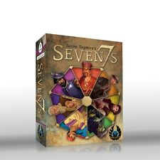 Seven7s Card Game Eagle-Gryphon Games EGG #7 Word Letters Family Sevens 7s