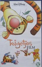 TEIGETJES - FILM   - VHS (ORIGINAL DISNEY-CASE)