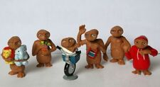 Set of 6pc E.T. The Extra Terrestrial Mini Figures Toy Rare AU