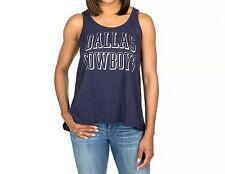 NFL Dallas Cowboys Women's Navy Jordan Tank Top  Large