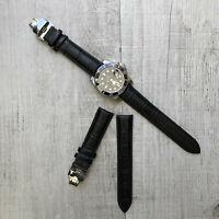 Cuir Boucle Déployante Bracelet de Montre 20mm pour Rolex Daytona Submariner Gmt
