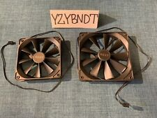 2 Pieces -  NZXT AER Fans 120mm and 140mm Set High Performance Airflow Fans