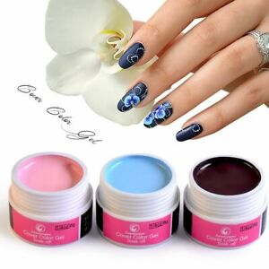 Drawing UV Nail Gel Paint Manicure Art Design Pure Color Painting Polish Beauty