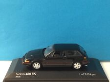 MINICHAMPS 1:43 Volvo 480 ES 1986 Black Model Nr. 400 171520