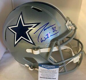 Jason Witten Signed Dallas Cowboys Full Size Replica Helmet BAS Authentication