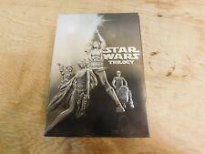 STAR WARS TRILOGY DVD 2004 4-DISC BOX SET WIDESCREEN EPISODE 4 5 6 IV V VI BON