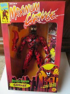 "Toy Biz Maximum Carnage Deluxe Edition Action Figure 10"""