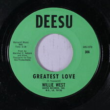 WILLIE WEST: Greatest Love / Hello Mama 45 Soul