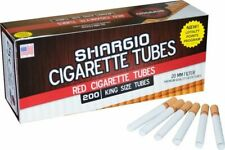 Shargio Red Full Flavor King Size - 10 Boxes - 200 Tubes Box Tobacco Cigarette