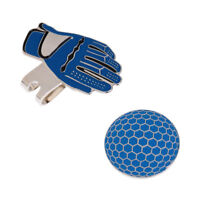 New Funny Glove Golf Hat Clip with Magnetic Ball Marker Golfer Gift Blue