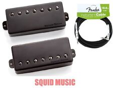 Seymour Duncan Nazgul & Sentient 7 String Set Covered Pickup (FENDER 18FT CABLE)