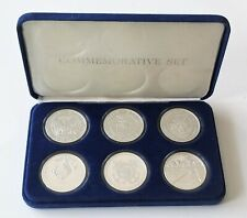 Vietnam Veterans Memorial 10th Anniversary Silver Proof Medals – 6 Total