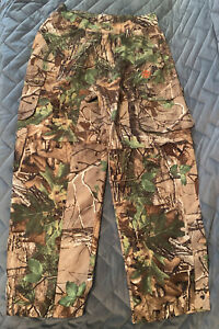 Youth Boys Realtree Pants W/Zip Off Bottoms Lightweight Size M by Game Winner