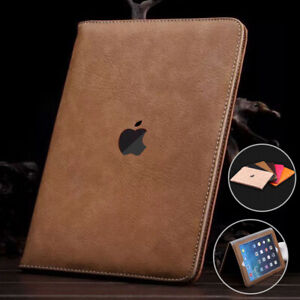 """For Apple iPad 10.2"""" 8th 7th Generation / 9.7"""" 6th 5th Leather Wallet Case Cover"""