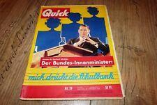Quick 39/1958 Caterina Valente,Nick Knatterton Manfred Schmidt