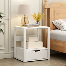 Bedside Tables Cabinet Storage Side Bedroom Furniture Wooden Chest of Drawers