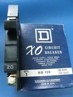 Square D Cutler-Hammer XO BREAKER 1 & 2 Pole ALL SIZES 15 20 30 40 50 Amp X0 SQD
