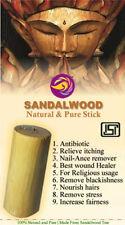 Pure and Original Sandalwood Stick Best Quality 1 PIECE 40-45 gm (Chandan Stick)