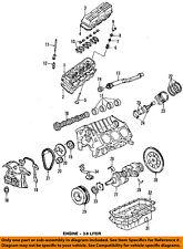 GM OEM Camshaft Cam-Front Cover Seal 12582313