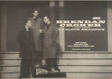 2/9/89Pgn39 Advert: 'brendan Croaker & The 5 O'clock Shadows' An Album 7x11